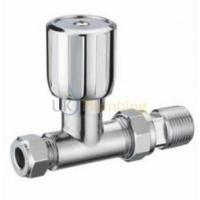 "Quality Heating Controls Pegler Terrier 1/2""X15MM Wheel Head Straight Towel Rail Valve Chrome wholesale"