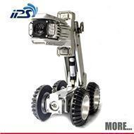 China Drain sewer robot inspection tool - motorized pan and tilt crawler sewer camera with 120m cable on sale