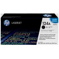 HP Color Toners HP Q6000A Black Original LaserJet Toner Cartridge 124A