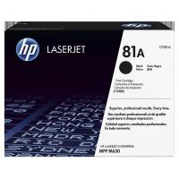 Quality HP Black Toners HP 81A (CF281A) Black Original LaserJet Toner Cartridge wholesale