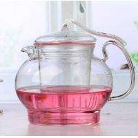 China Teapot with glass filter tea table set on sale