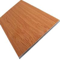 China Products: Wood Grain Aluminum-plastic Composite Panel on sale