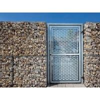 Buy cheap Expanded Metal Gate  Beautiful Appearance, High Security, Anti-Rust from wholesalers