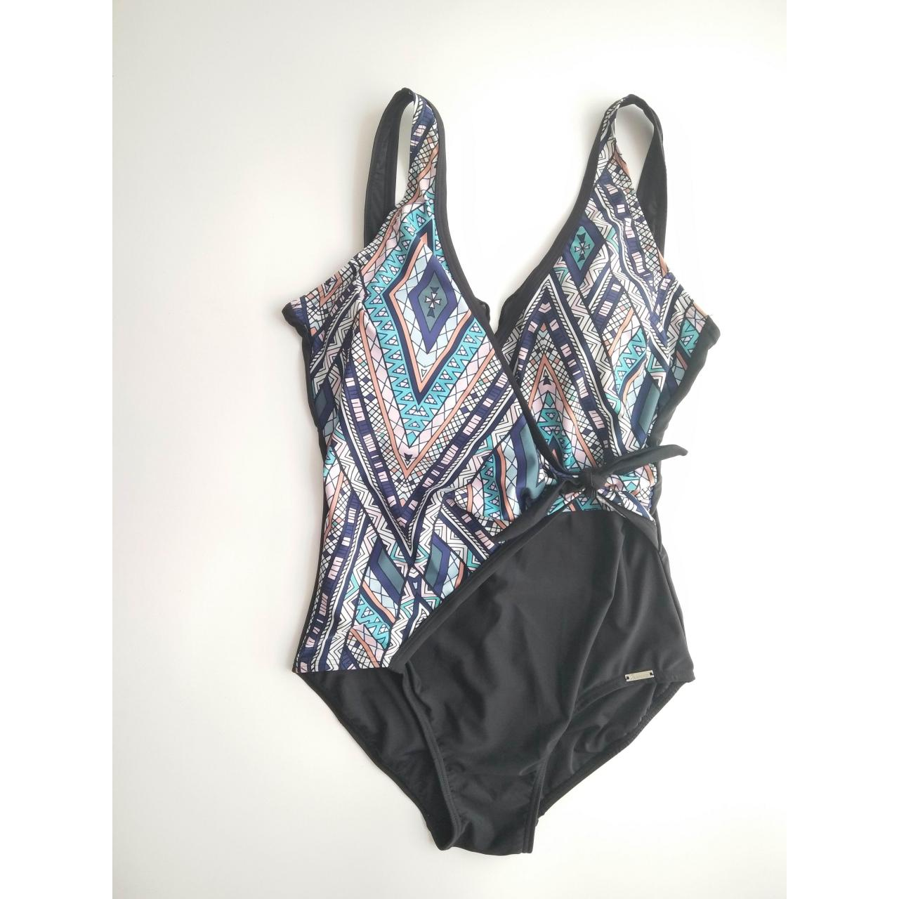 LADIES SWIMSUITS ladies front tie one-piece swimwear