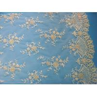 Quality Bridal Lace Fabric Embroidered Wedding Floral Lace Fabric (W9033) wholesale