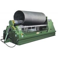 Buy cheap Hydraulic symmetrical three - roll coiling machine from wholesalers