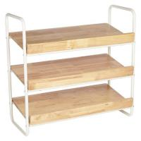 Quality Rustic Wooden Shoe Rack Storage wholesale