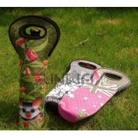 Quality Party Decoration, Insulated Wine Bottle Carrier Bag Promotio wholesale