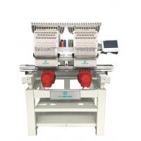 Quality HB-1202 industrial sale price flat hat 2 head commercial embroidery machine wholesale