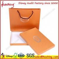 China Custom printing Art paper packaging boxes and Bags on sale