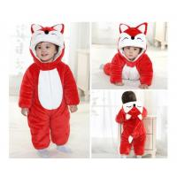 Quality Baby Character Dress- Red Fox, 100% polyester micro fiber mink. wholesale
