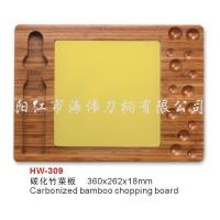 China chopping boards carbonized bamboo chopping board on sale