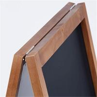 Buy cheap A Frame Restaurant Bar Sign Wooden Blackboard from wholesalers