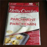 China Silicone Coated Baking with Best Pre Cut Greaseproof Parchment Paper Lined Sheet for Baking on sale