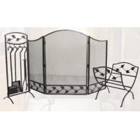China Cast Iron Fireplace Accessories Suit on sale