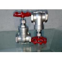 China Gate valve Stainless steel internal thread gate valve on sale