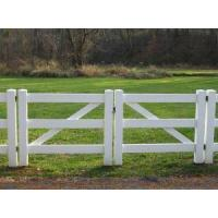 China Horse Fence PVC Horse Fence Double Gate (FT-HG02) on sale