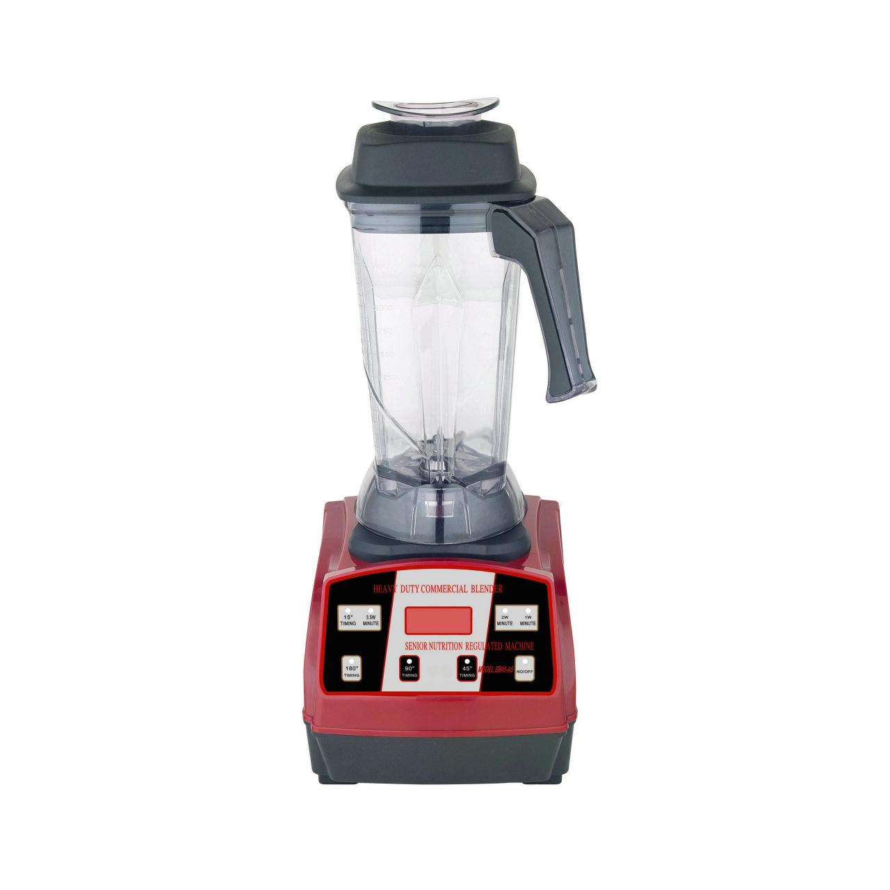 China 2200W2.5L heavy duty commercial blender, pineapple juice extractor-A6 RED on sale