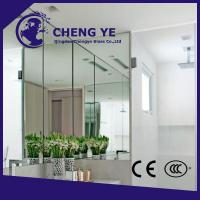 Quality High Security 3mm Flat 6mm 5.5mm Low Iron Silver Aluminium Mirror Glass Building wholesale