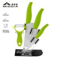 Quality Ceramic Knife Set High Quality Ceramic Knives Set With Block For Kitchen Cooking 5 Pieces Set wholesale