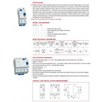 Quality RESIDUAL CURRENT PROTECTIVE DEVICE wholesale