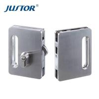 Quality JU-W506 Sliding glass door security pivot lock with lever handles lock wholesale
