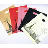 Quality Biodegradable New Innovative Products Printed Die Cut Plastic Bags With Handle wholesale