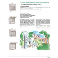 Weather Protected Series Products UNIBOX Series weather protected isolating switches