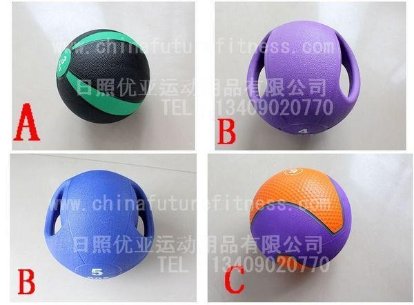 Cheap gym ball & rack CFF 5008 Rubber medicine ball for sale