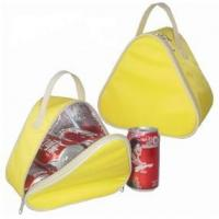 China cooler bag(130) View Detail Yellow triangular shape cooler bag on sale