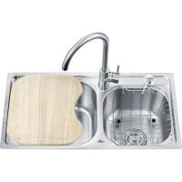 Quality One-piece Double Sinks OL-7640HA wholesale