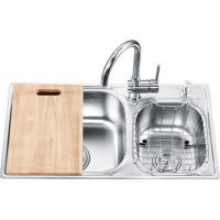 Quality One-piece Double Sinks OL-7742HA wholesale