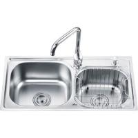 Buy cheap H-Side Double Sinks OH-7638A from wholesalers