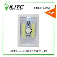 China Utility Light Dial Dimmer COB Cordless Switch Light (IL0016) on sale