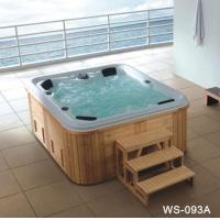 Bathtub Product name:JacuzziProduct num:WS-093A size: 2350*2000*900mm