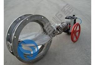 Cheap Equipment The flue Gas Butterfly Valve for sale
