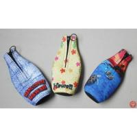 China High quality neoprene bottle cover beer bottle cooler different size and style customized on sale