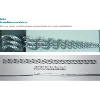 China Preformed wire fittings Splice on sale