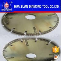 Quality Angle Grinder Diamond Blade Electroplated Cutting Disc For Tiles wholesale
