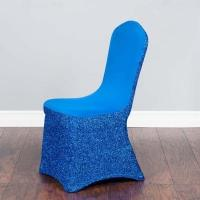 China Glitter Spandex Stretch Chair Covers For Sale on sale