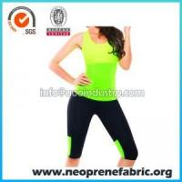 Quality Neoprene Apple Green Hot Shirt for Sports Shapers wholesale