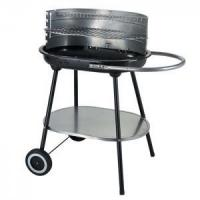 Quality YL1236 Oval Shaped Simple outdoor Trolley charcoal barbecue Grill wholesale