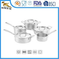 Quality Tri-Ply Hammered 18/10 Cookware Sets wholesale