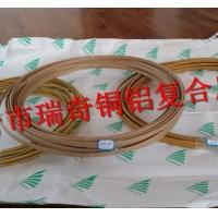 China Copper clad aluminum flat wire on sale