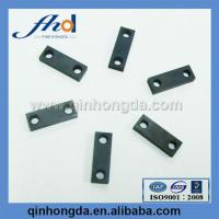 China 7072 aluminum sheet metal stamping Black anodized parts on sale