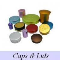 Quality Glass printing perfume press cap wholesale