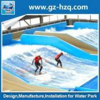 China Color customized Turnkey free surfing fiberglass big water slide for sale on sale