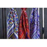 Quality 100 silk scarf for hair Promotion 100% Silk Scarf wholesale