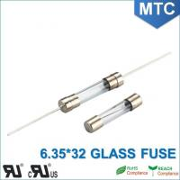 Quality MTC 6.0*30mm 6.35X32mm 0.1~30A Time-Lag Glass Fuse wholesale