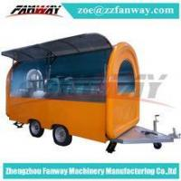 China mobile fast food trailer for ice cream hambeger snacks /mobile food cart food truck on sale